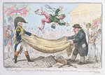 The high flying Candidate Fine Art Print by James Gillray