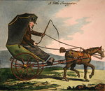 The Little Snuggerer Fine Art Print by Constantin Guys