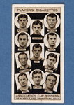 Newscastle United, Drawn Game, 1911, no.34 from the 'Association Cup Winners' series of 'Player's Cigarettes' cards Wall Art & Canvas Prints by English School