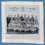 Handkerchief to commemorate West Bromwich Albion reaching the FA Cup Final in 1931
