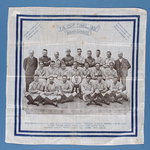 Handkerchief to commemorate Birmingham City reaching the FA Cup Final in 1931 Fine Art Print by English School