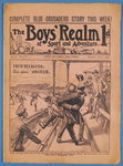 The Boys' Realm of Sport and Adventure, no.301, Vol. VI. 7th March 1908 Wall Art & Canvas Prints by English School