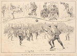 Blackburn Rovers vs. Nottingham County, from 'The Illustrated Sporting and Dramatic News', 23rd March 1891 Wall Art & Canvas Prints by P.J. Crook