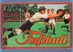 German 'Fussball' Boardgame Poster Art Print by English School