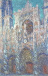 Rouen Cathedral in the Setting Sun, 1892-94 Fine Art Print by Claude Monet