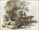 In Lord Powis' Park at Walcot Fine Art Print by John Constable