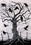 Rook Tree, 1999 Poster Art Print by Stanley Cooke