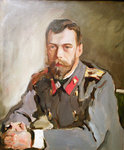 Portrait of Emperor Nicholas II, 1900 Wall Art & Canvas Prints by Victor Mikhailovich Vasnetsov