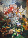 Still Life with Flowers, 1922 Fine Art Print by Claude Monet
