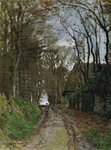 Path in Normandy Wall Art & Canvas Prints by Paul Cezanne