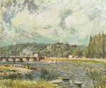The Bridge at Sevres, c.1877 Wall Art & Canvas Prints by John Constable