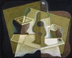 The Packet of Tobacco, c.1923 Wall Art & Canvas Prints by Juan Gris
