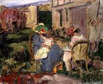 The Family Fine Art Print by Pierre-Auguste Renoir