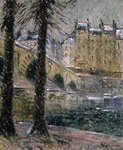 The Pont Marie, c.1926 Wall Art & Canvas Prints by Claude Monet