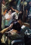 The Mirror, 1912 Postcards, Greetings Cards, Art Prints, Canvas, Framed Pictures, T-shirts & Wall Art by Pierre Auguste Renoir