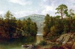 The Lake George, 1876 Fine Art Print by Thomas Moran