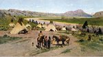 In the Foothills of the Rockies, 1898 Fine Art Print by Samuel Daniell
