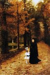 The Widow's Walk, 1887 Fine Art Print by Adolf Ulrich Wertmuller