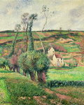 The Cabbage Slopes, Pontoise, 1882 Fine Art Print by Claude Monet