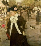 Boulevard des Italiens Wall Art & Canvas Prints by Pierre Auguste Renoir