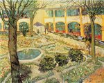 The Asylum Garden at Arles, 1889 Fine Art Print by Vincent van Gogh