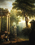 Classical landscape Postcards, Greetings Cards, Art Prints, Canvas, Framed Pictures, T-shirts & Wall Art by Giovanni Paolo Pannini or Panini