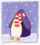 Penguin, 2001 Fine Art Print by Alex Smith-Burnett