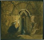 Rock-cut tunnel, Pools of Solomon, Near Bethlehem, 1872 Fine Art Print by English School