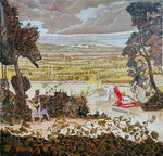 Storm Brewing, Basingstoke, 2004 Wall Art & Canvas Prints by English School