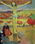 Yellow Christ, 1889 Wall Art & Canvas Prints by Paul Gauguin