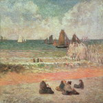 Bathing, Dieppe, 1885 Wall Art & Canvas Prints by John Constable