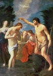 The Baptism of Christ, 1623 Fine Art Print by Master of Marradi
