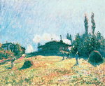 The Station at Sevres Fine Art Print by Claude Monet