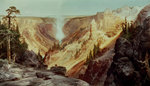 The Grand Canyon of the Yellowstone, 1872 Wall Art & Canvas Prints by Thomas Moran