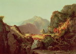 Scene from 'The Last of the Mohicans', by James Fenimore Cooper Fine Art Print by Thomas Moran