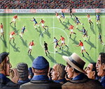 The Big Match, 2000 Fine Art Print by P.J. Crook