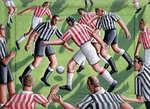 Local Derby, 2000 Fine Art Print by English School