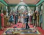 The Party, 2003 Wall Art & Canvas Prints by Egbert van the Elder Heemskerk