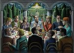 The Supper, 2010 Fine Art Print by Antoine Charles Horace Vernet