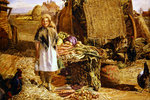 Preparing for Market Wall Art & Canvas Prints by E.B. Watts