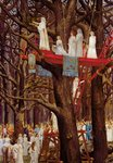 Druids Cutting the Mistletoe on the Sixth Day of the Moon