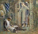The Failure of Sir Lancelot Fine Art Print by Dante Gabriel Rossetti