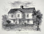 Thomas Hooker's house at Hartford, Connecticut