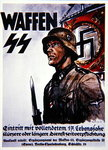 German Waffen SS recruiting poster Fine Art Print by German School