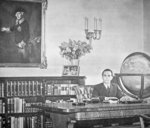 Josef Goebbels in his office Fine Art Print by German Photographer