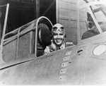 Lt. Edward H. O'Hare in a Grumman Wildcat Fighter, 1942 Fine Art Print by American Photographer
