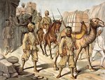 Escort of the 20th Bengal Wall Art & Canvas Prints by English School
