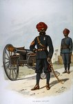 The Bombay Artillery, 1888 Wall Art & Canvas Prints by Antoine Louis Francois Sergent-Marceau