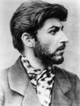 Stalin when part of the Bolshevik underground, 1900 Fine Art Print by Russian Photographer