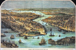General View of the City of New York, 1860 Wall Art & Canvas Prints by Anonymous